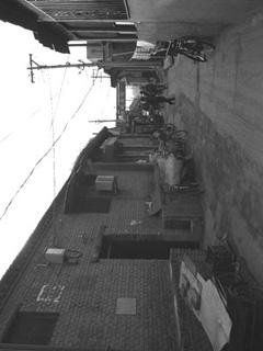 北京・南新華街附近の胡同