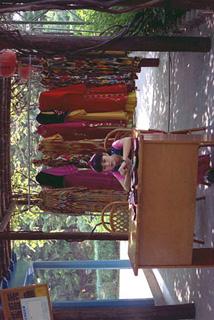 シンセン・錦繍中華民族文化村の少女
